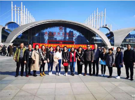 我院职工参观新中国成立70周年成就展